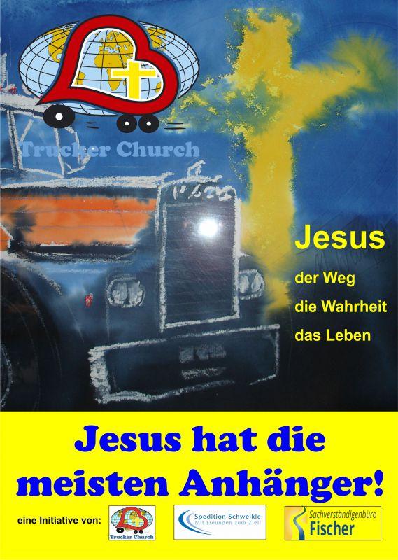 Jesus hat die meisten Anhänger 4